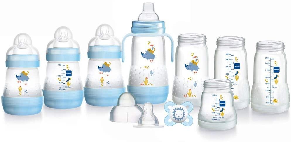MAM baby bottles starter set