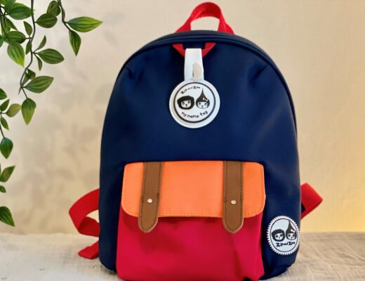 Zip and Zoe colourblock backpack for featured image