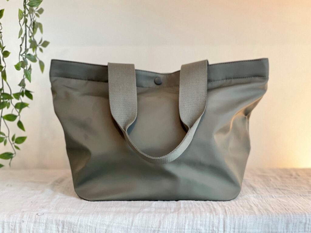 Uniqlo green bag