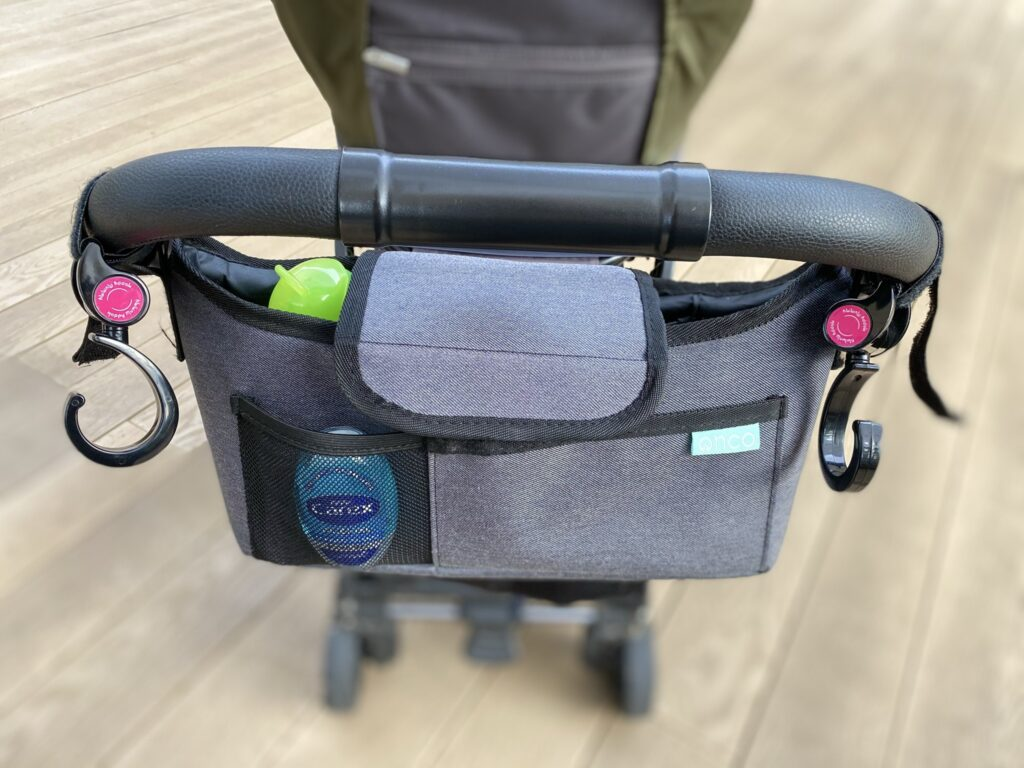 Amazon Onco deluxe buggy organiser attached to buggy
