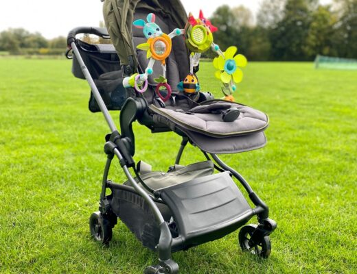 iCandy Raspberry pushchair with toy for feature image