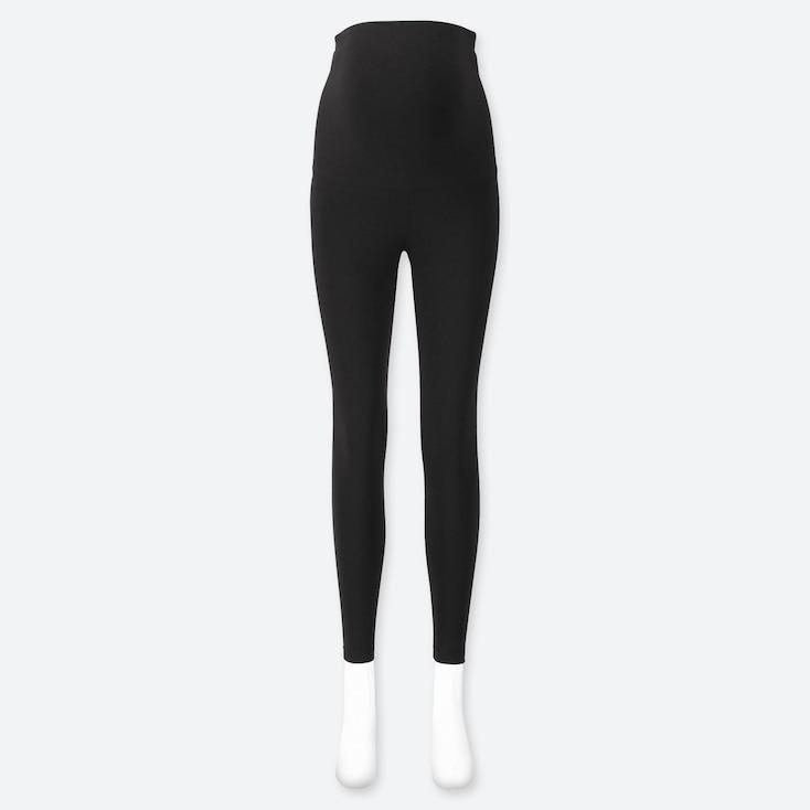 Uniqlo maternity leggings in black