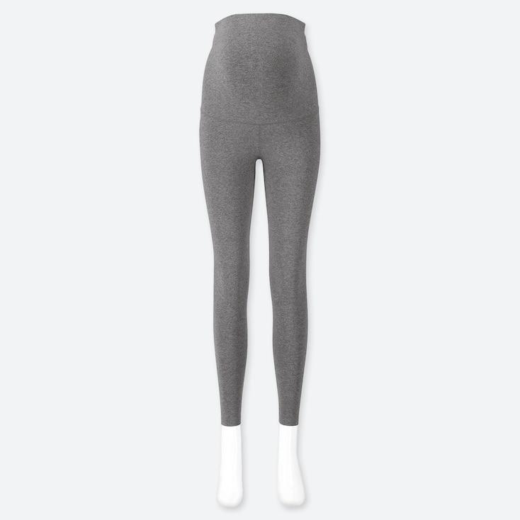 Uniqlo maternity leggings in grey