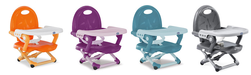 Chicco Pocket Snack Booster Seat in all 4 colours