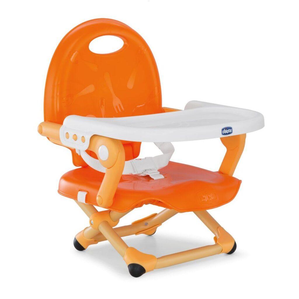 Chicco Pocket Snack Booster Seat in mandarino orange