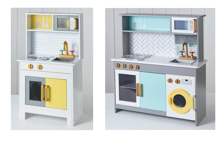 George Asda toy kitchens, small and large