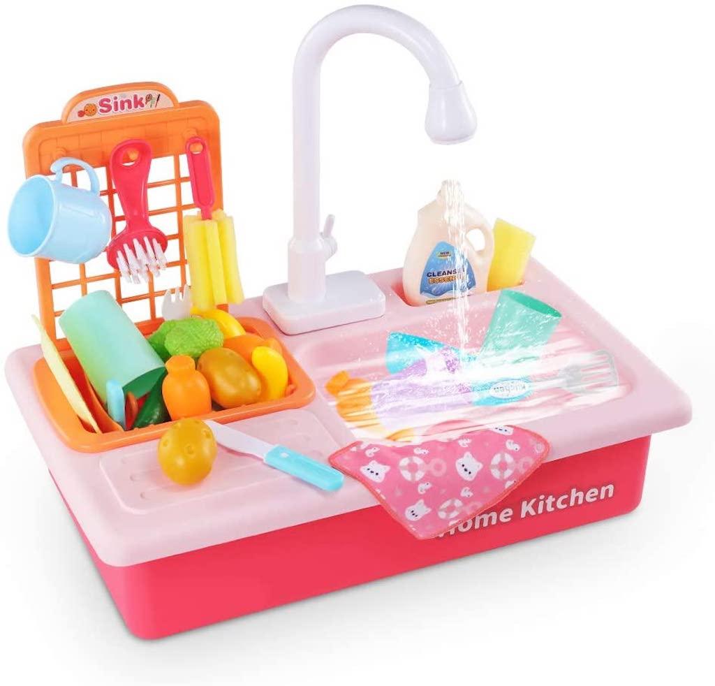 Amazon Temi toy kitchen sink
