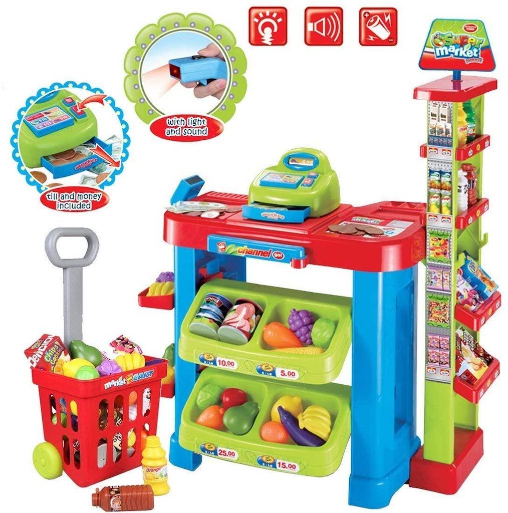 Amazon deAO toy supermarket stall