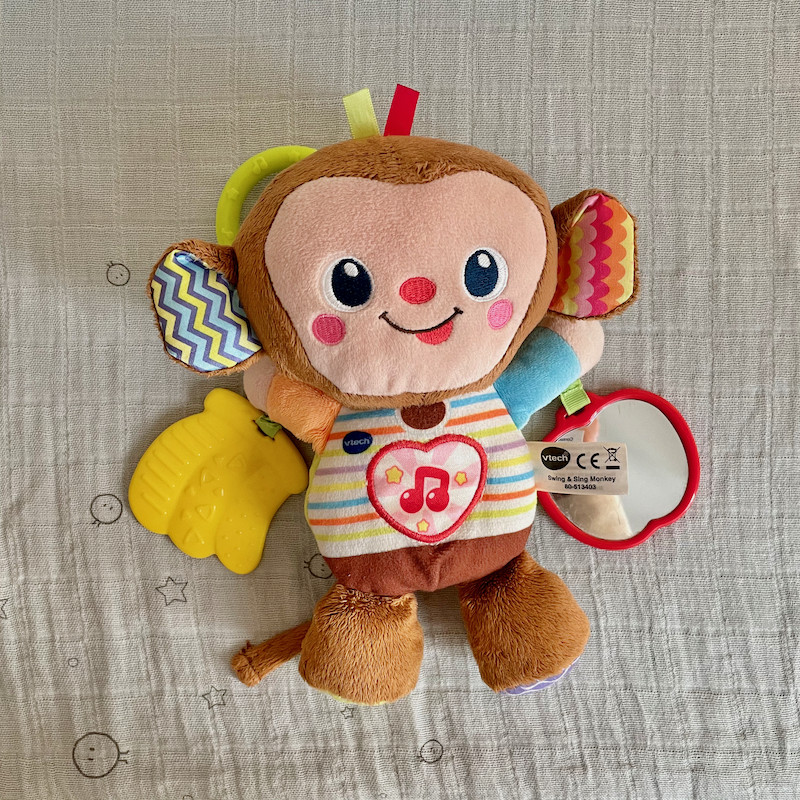 Vtech Monkey with teether and sounds
