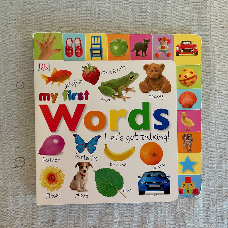 My First Words Lets Get Talking Board Book