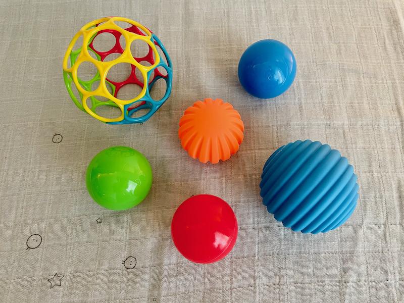 Sensory Balls and Net Ball