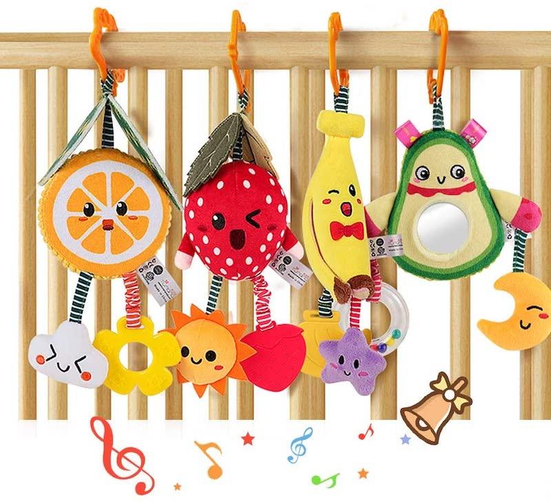 Tumama-4-Pack-hanging-fruit-rattle-toys-from-Amazon