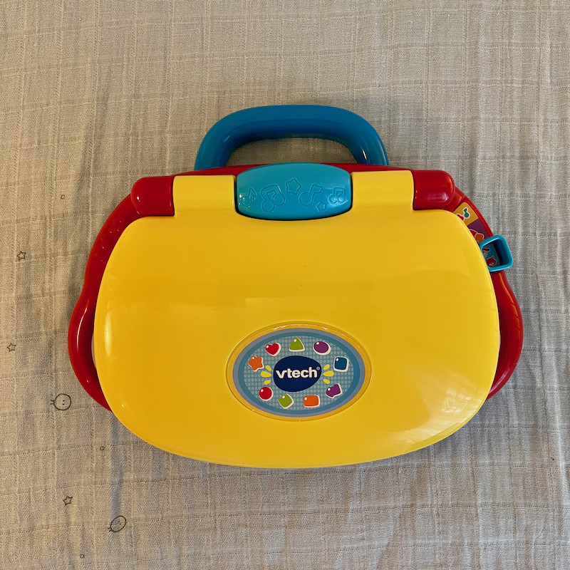 Vtech Baby's First Laptop Closed
