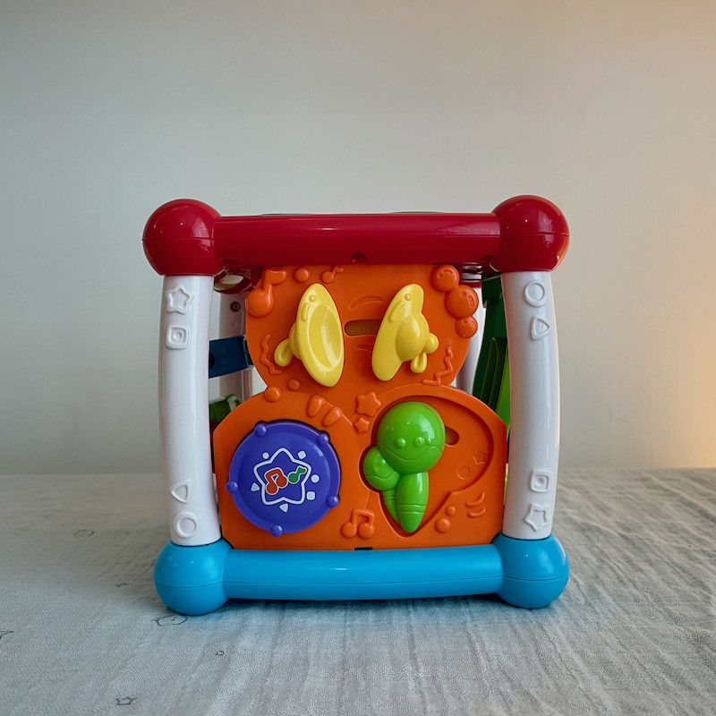 Vtech Turn and Learn Cube Side 1