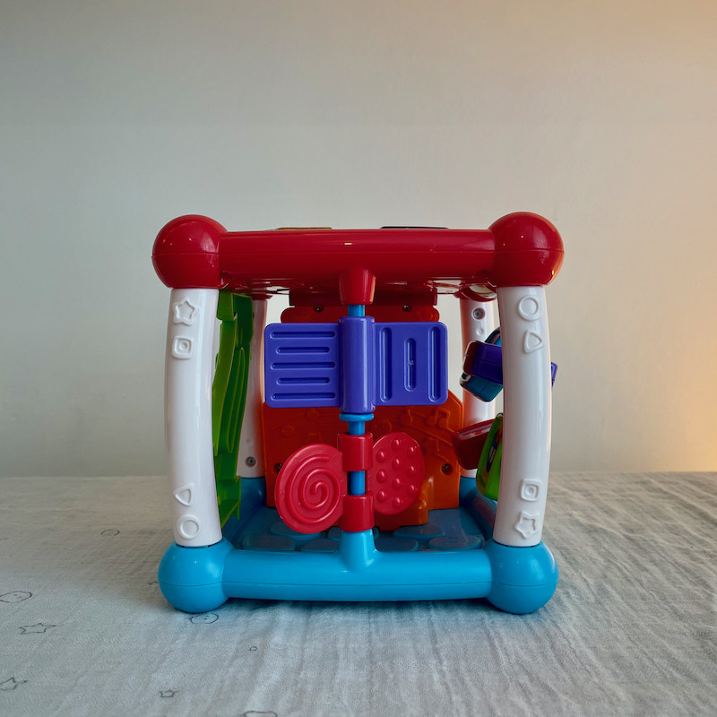 Vtech Turn and Learn Cube Side 3