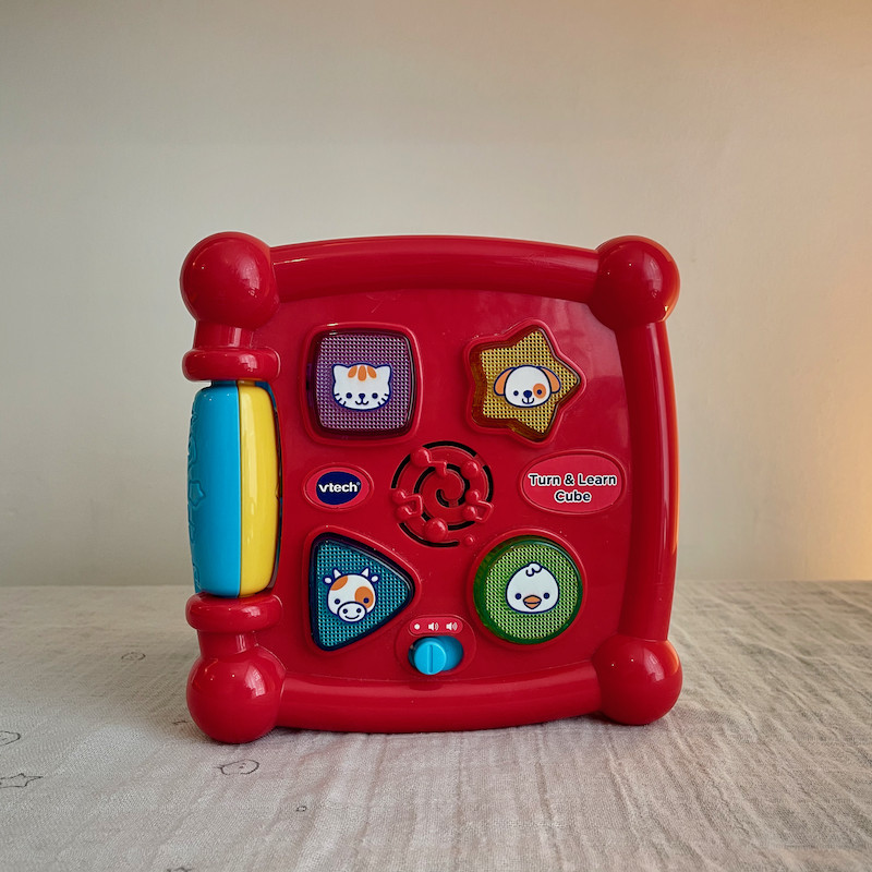 Vtech Turn and Learn Cube Side 5