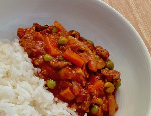 Final Meat Sauce dish for feature image Home Page Square