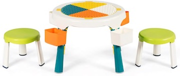 Amazon Costway 5 in 1 Kids Table and Chairs