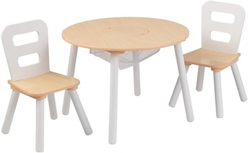 Amazon Kidkraft Round Wooden Table and Chairs