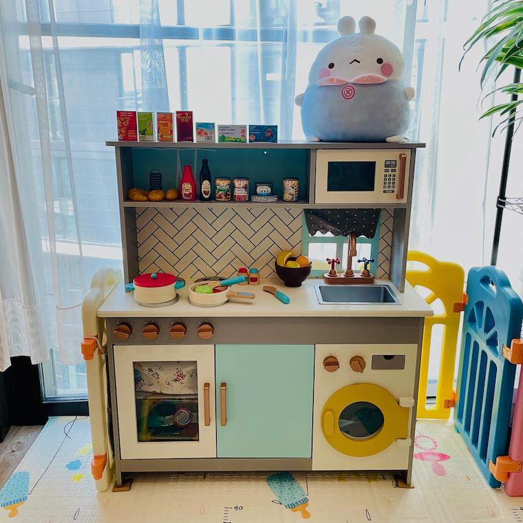 Author's Kitchen Assembled