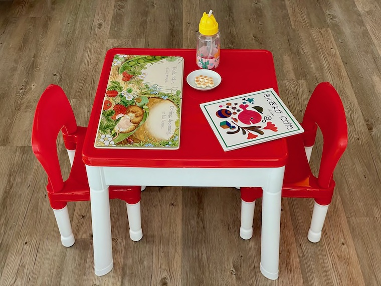 Little Helper Table and Chairs - Main Image