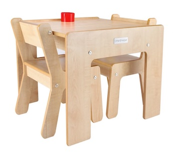 Little Helper Wooden Table and Chairs