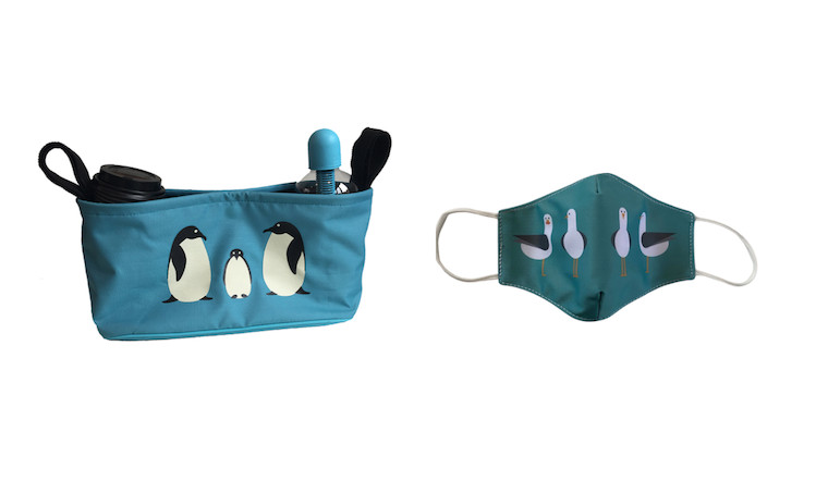 Bundlebean Buggy Bag and Face Mark