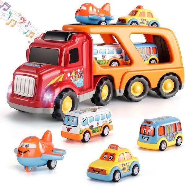 Fire Engine Toy - cartoon