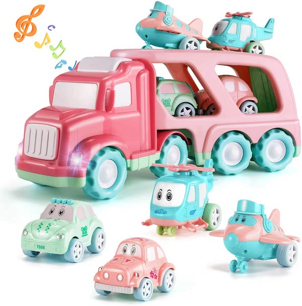 Fire Engine Toy - macaroon