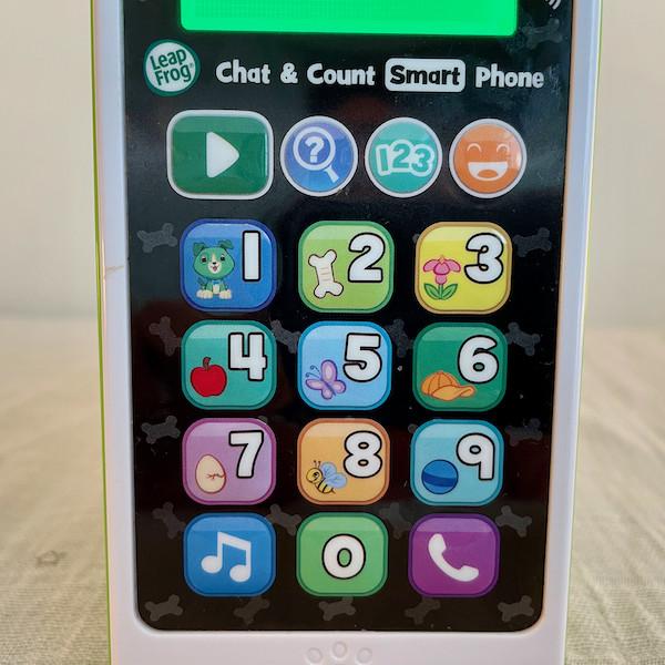 Leapfrog phone close up