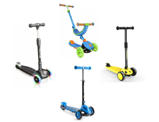 Selection of 4 scooters for feature image